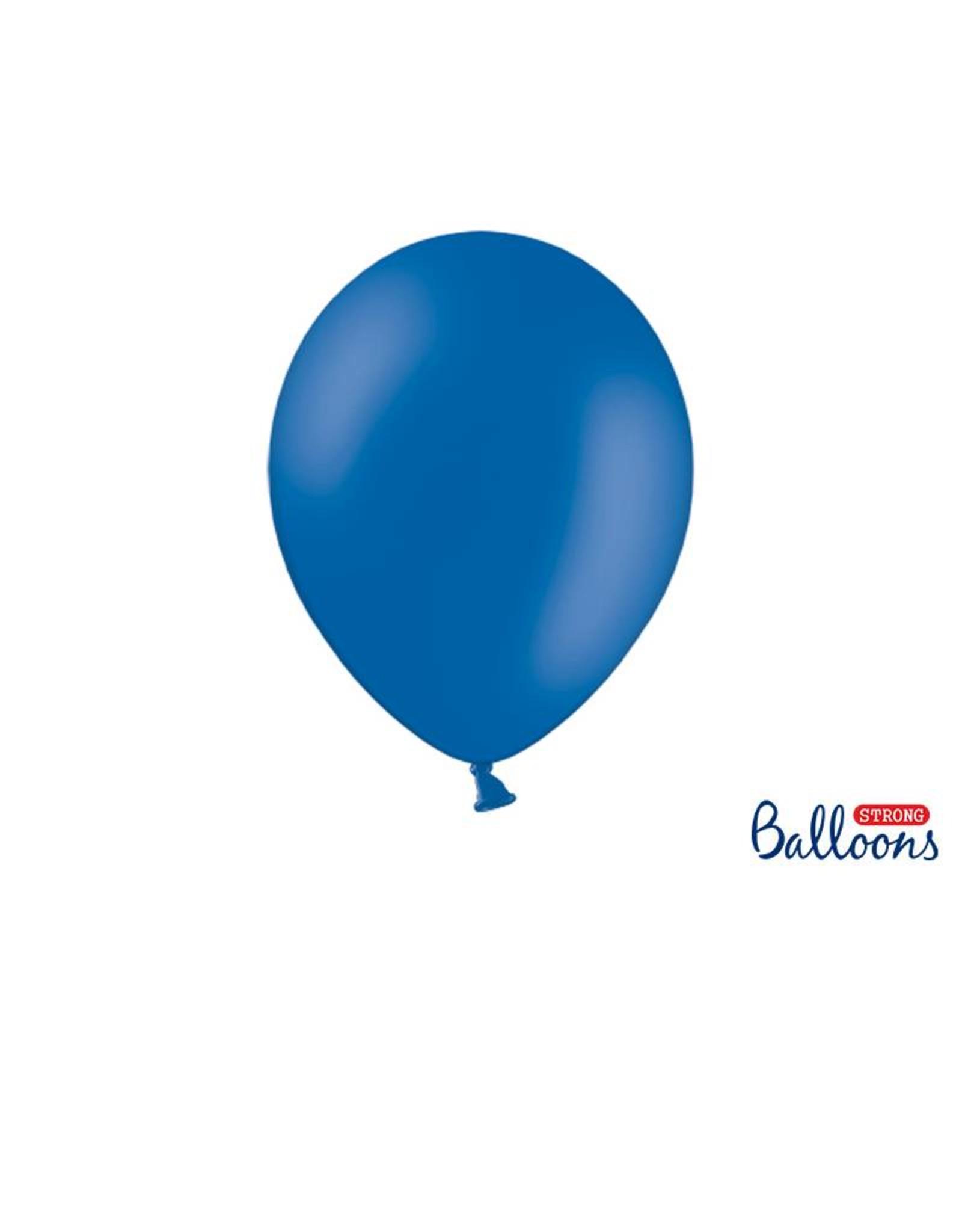 Strong Balloons Ballonnen blauw (30 cm) | 10 stuks