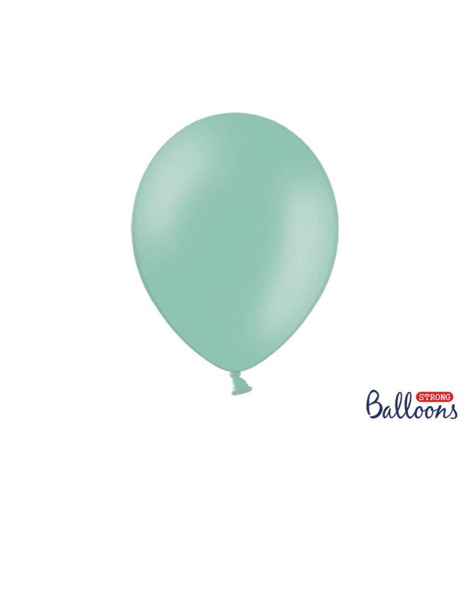 Strong Balloons Ballonnen mintgroen (30 cm) | 10 stuks