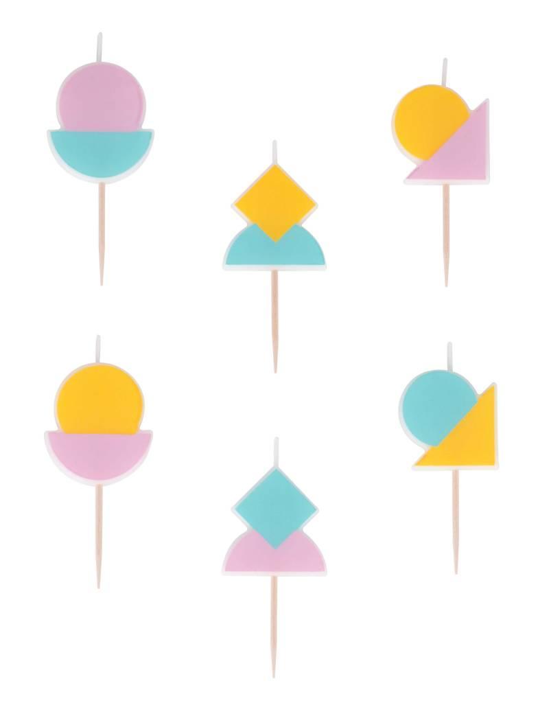 My Little Day Kaarsjes pastel | 6 stuks