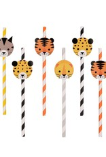 My Little Day Papieren rietjes 'Welcome to the jungle' | 12 stuks