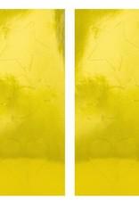 PartyDeco Zakjes strepen geel & wit | 6 stuks
