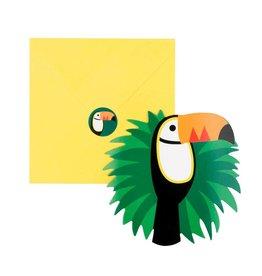 My Little Day Uitnodigingen kinderfeestje toucan | 8st