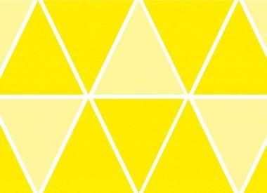 Gele versiering