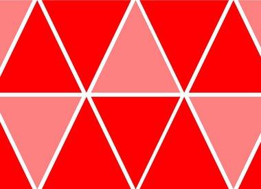 Rode versiering