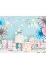 PartyDeco Slinger pastel sterren | 1,4 meter
