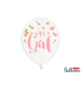Strong Balloons Ballonnen 'It's a girl' | 6st