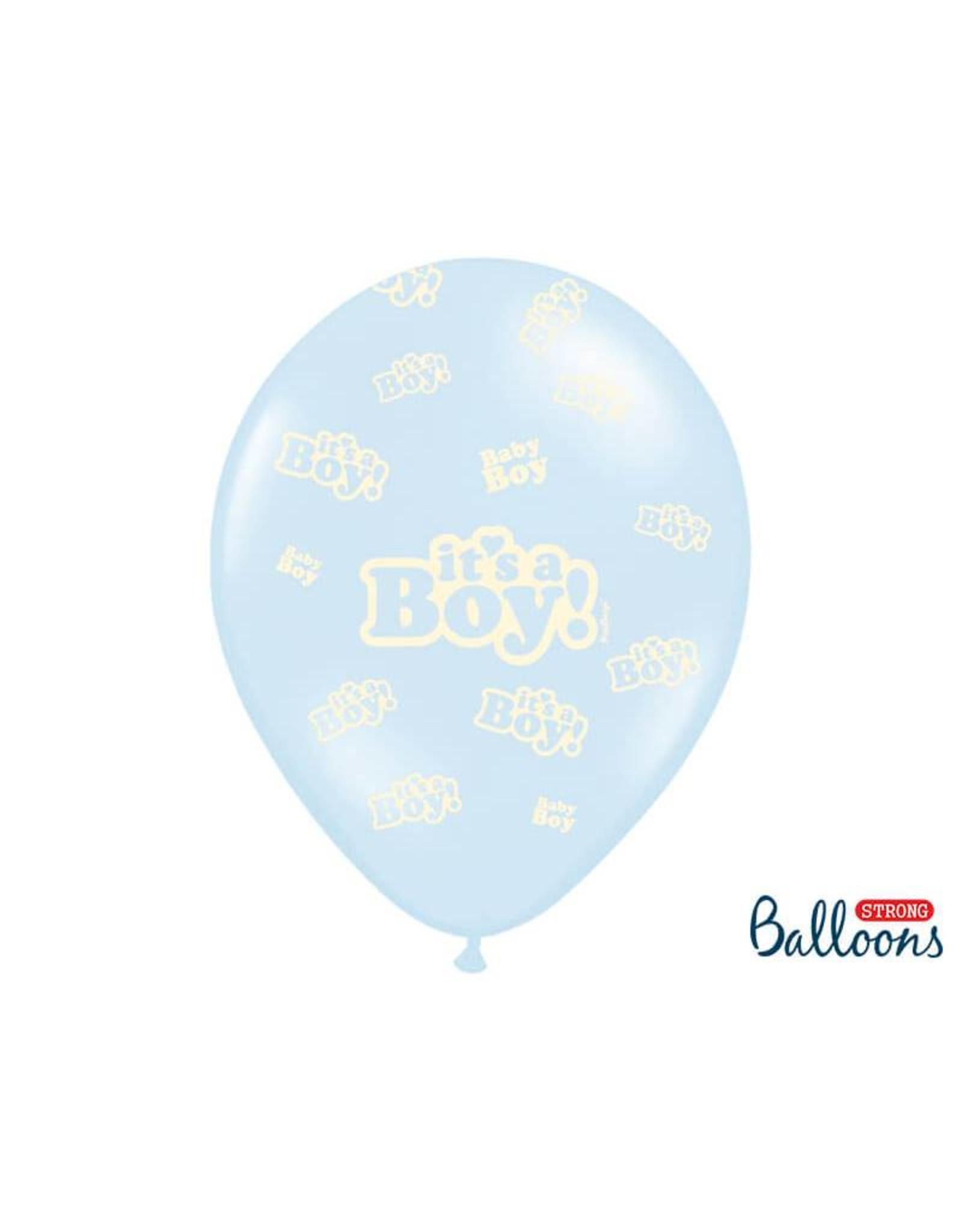 Strong Balloons Ballonnen mix 'It's a boy!' | 6 stuks