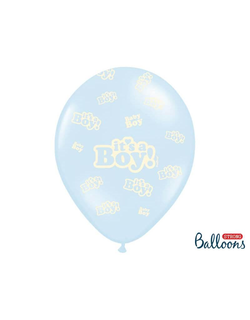 Strong Balloons Ballonnen mix 'It's a boy!' | 6 stuks