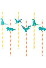 My Little Day Papieren rietjes dinosaurus | 12 stuks