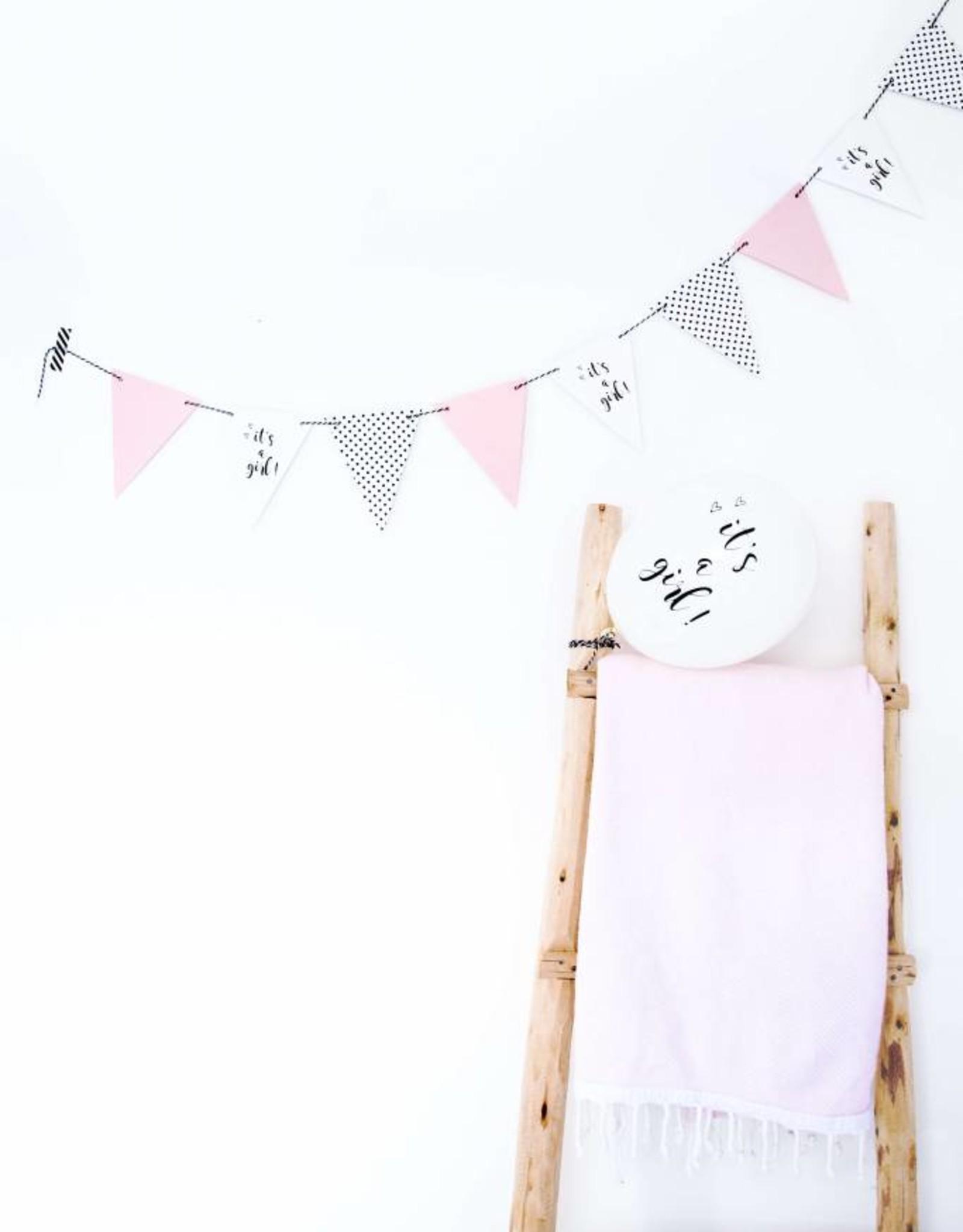 SuzyB Slinger 'It's a girl' | 2 meter