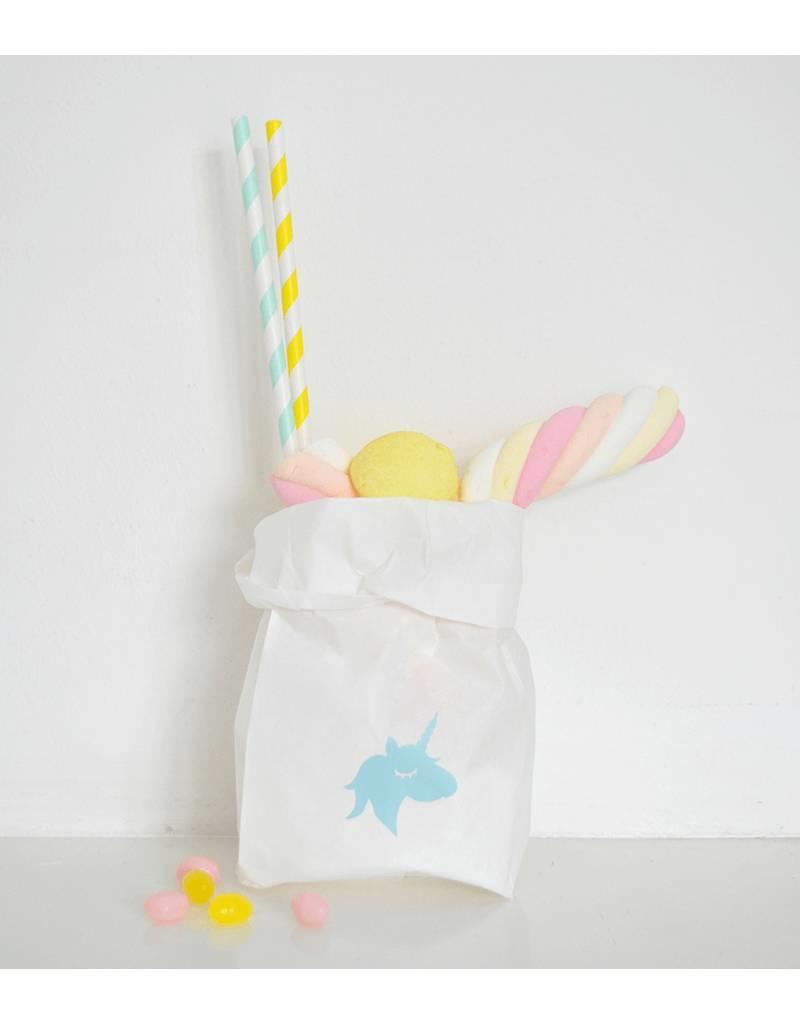 SuzyB Traktatiestickers unicorn | 20 stuks