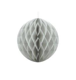 PartyDeco Honeycomb grijs (30 cm)