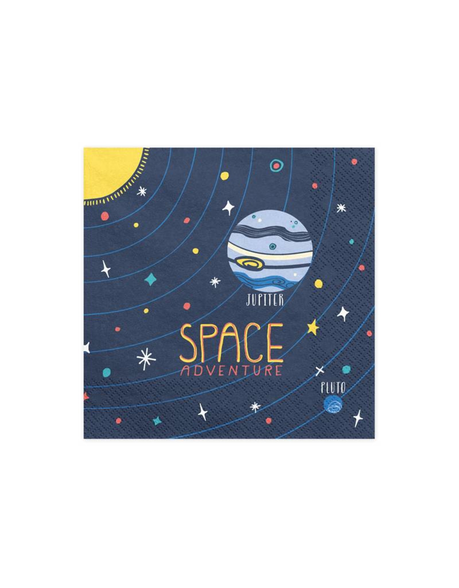 PartyDeco Servetten space party | 20 stuks