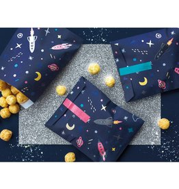 PartyDeco Zakjes space party | 6st