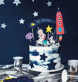 PartyDeco Prikkers space party | 7st