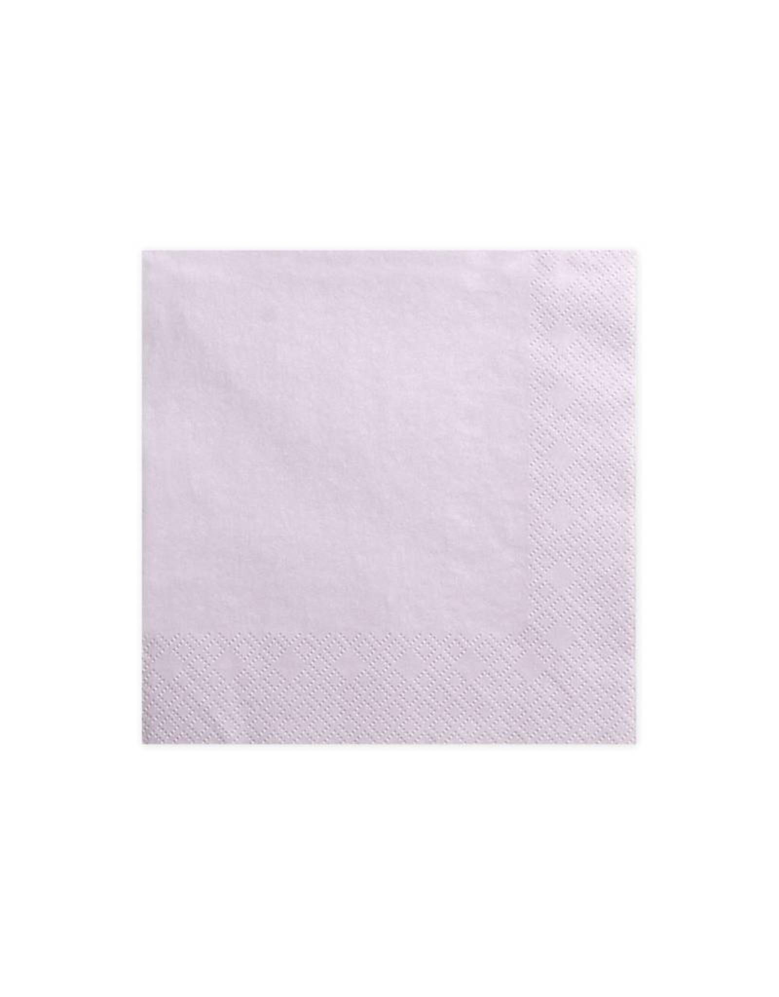 PartyDeco Servetten lavendel paars | 20 stuks