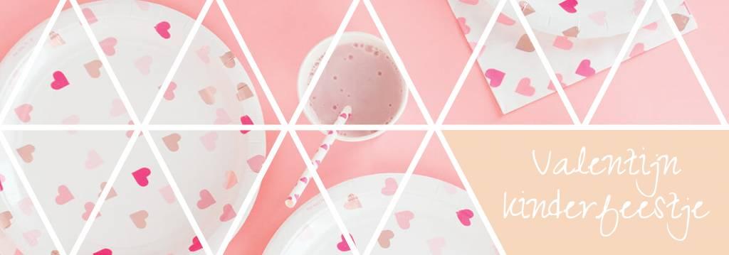 Kinderfeestje met Valentijn thema