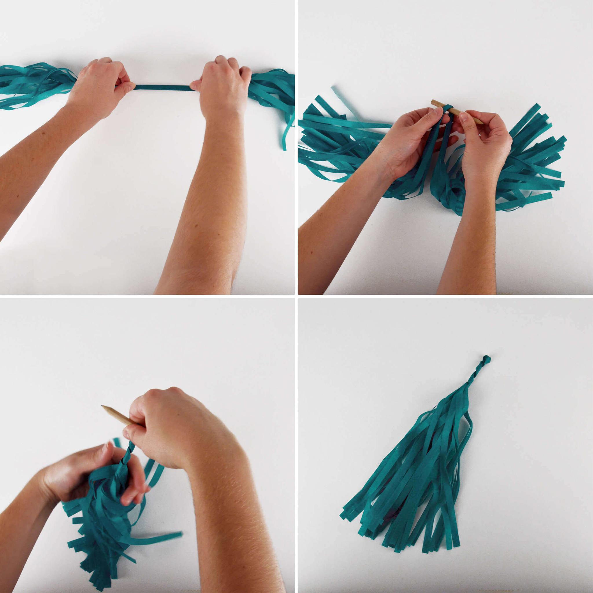 Tassel slinger zelf maken