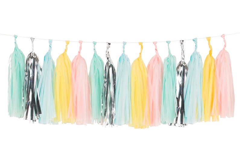 Tassel slinger pastel