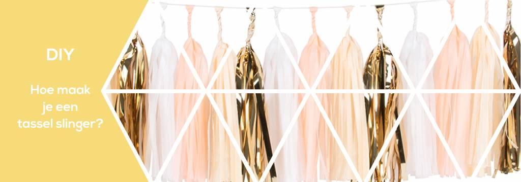 DIY: hoe maak je een tassel slinger?