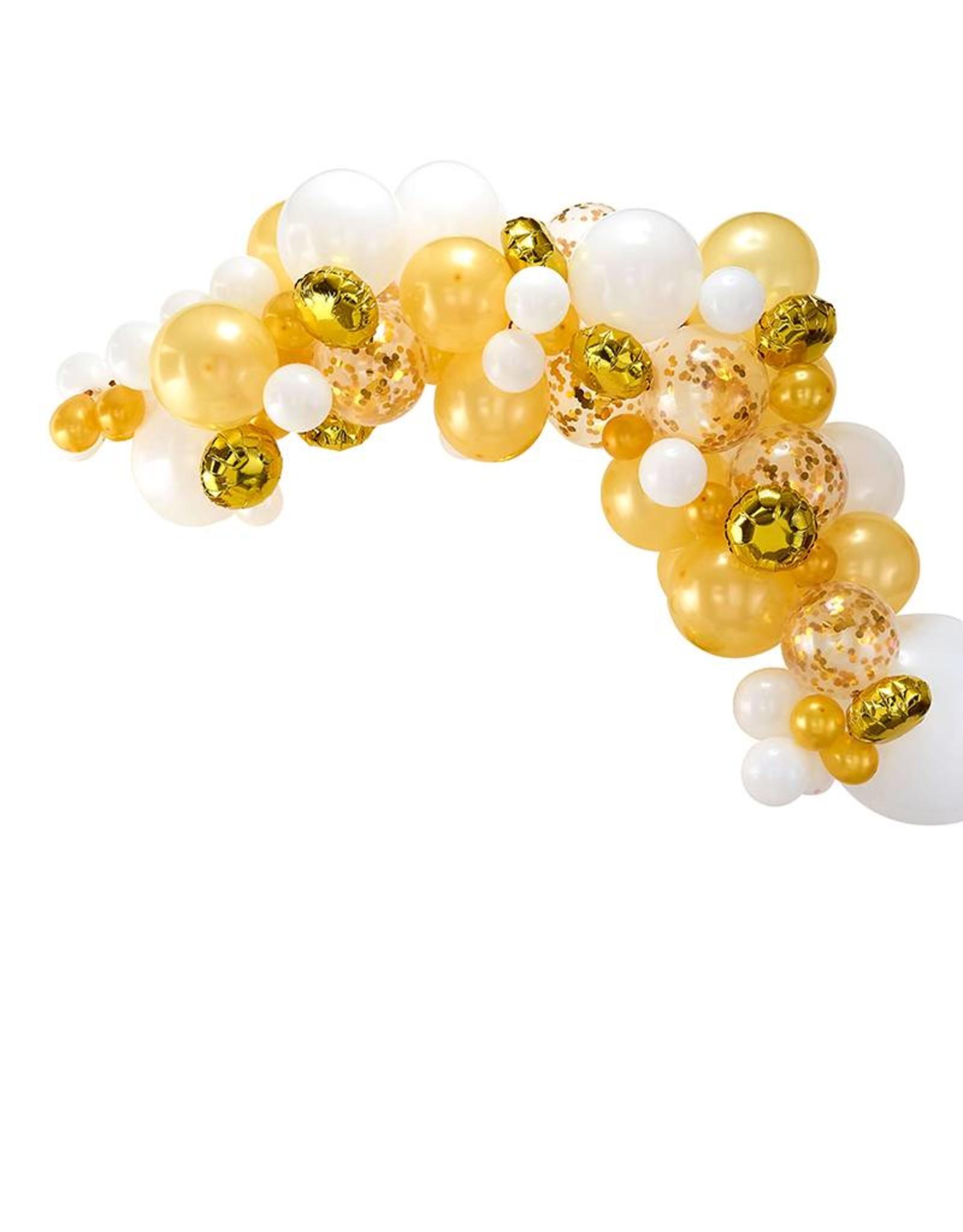 Ginger Ray Ballonnenboog goud DIY