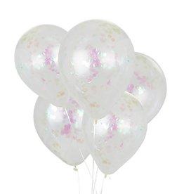 House of Gia Confetti ballonnen holografisch   6st