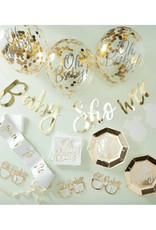 Ginger Ray Babyshower partybox goud 'Oh Baby!'