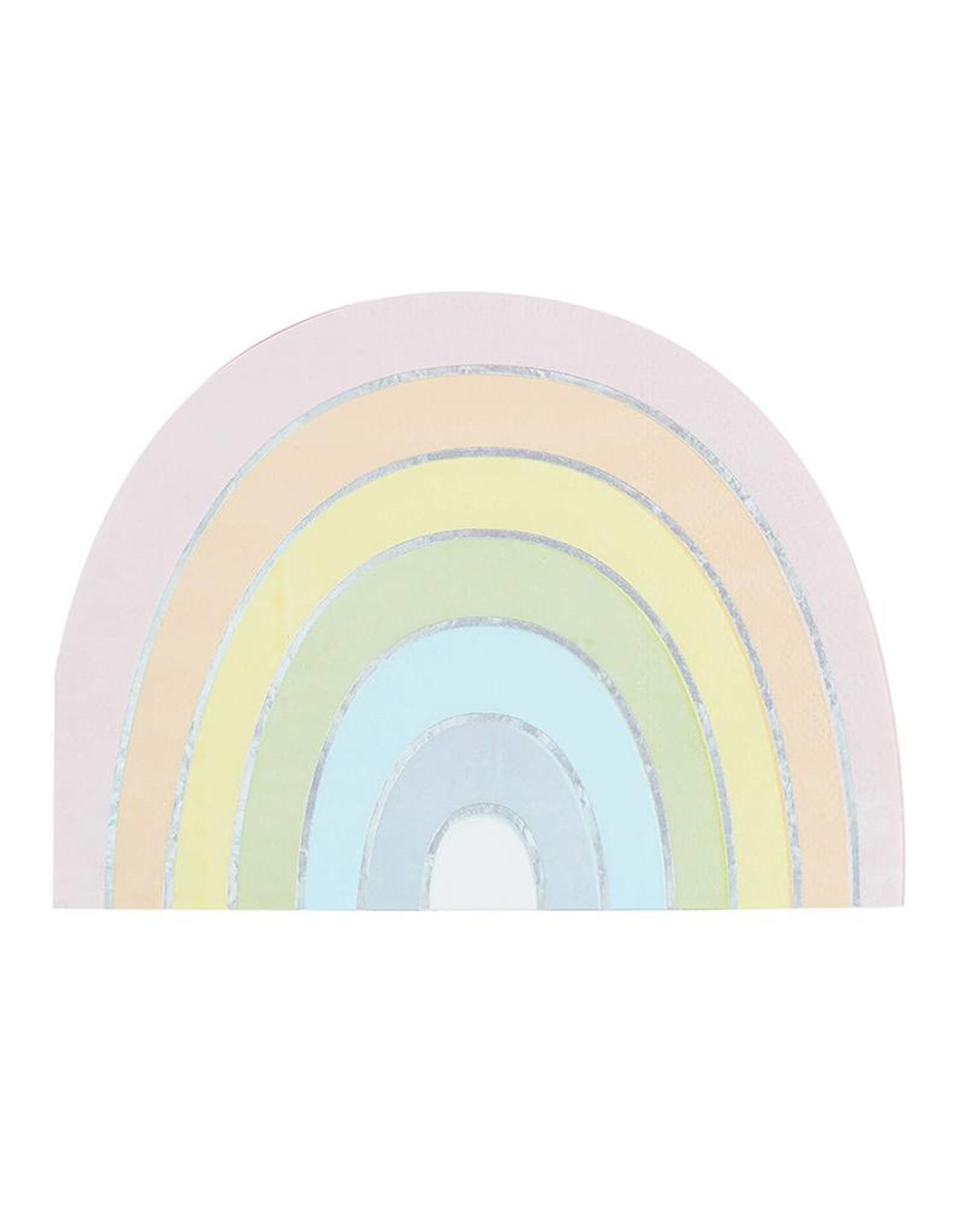 Ginger Ray Servetten regenboog | 8 stuks