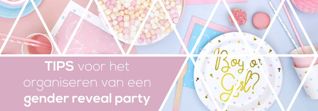Gender reveal party organiseren? Lees onze tips!