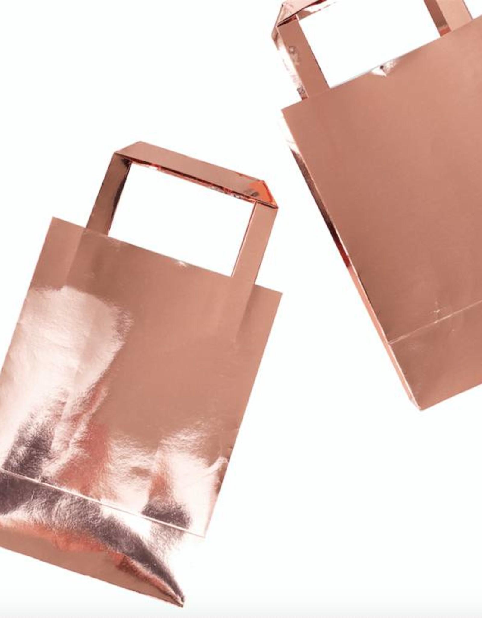 Ginger Ray Papieren tasje rosé goud | 5 stuks