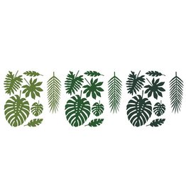 PartyDeco Decoratie bladeren tropical leaves | 21st