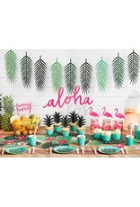 PartyDeco Decoratie bladeren tropical leaves | 21 stuks