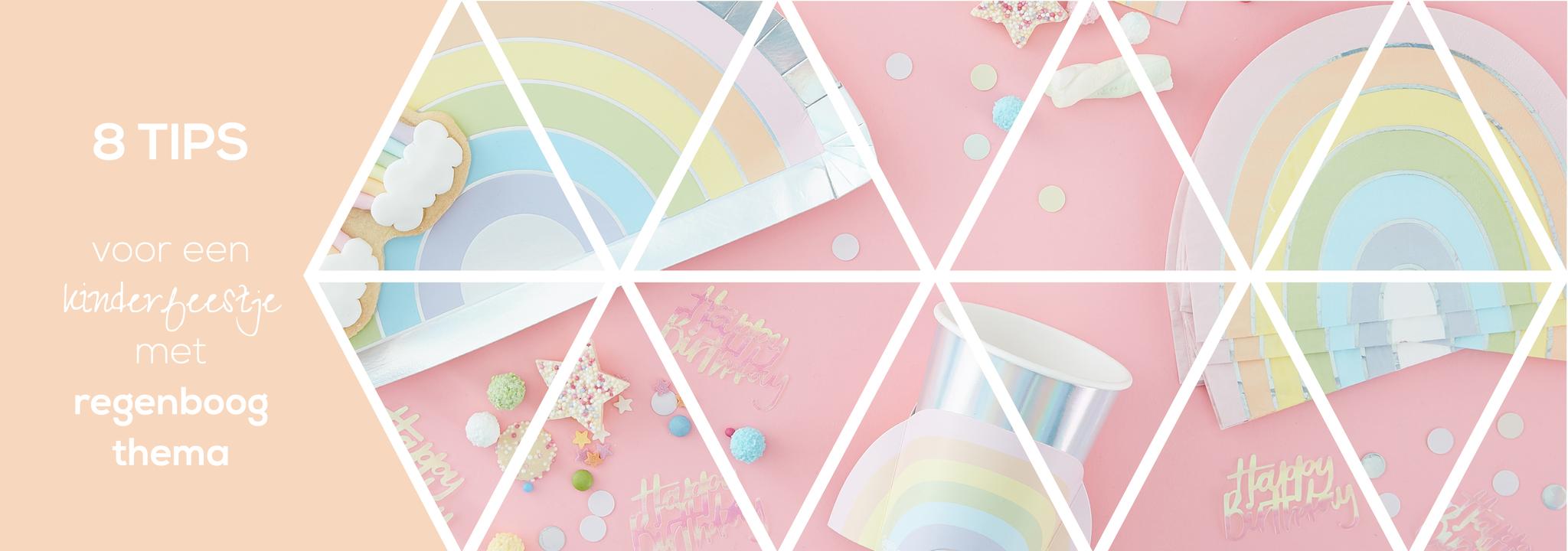 8 tips voor een kinderfeestje met regenboog thema