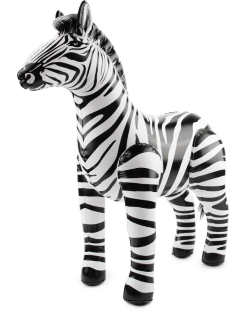 Folat Opblaas zebra | 60 x 55 cm