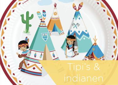 Tipi's & indianen