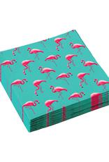Amscan Servetten flamingo | 20 stuks