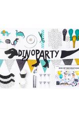 PartyDeco Partybox dinosaurus feestje | 6 personen