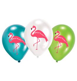 Amscan Ballonnen flamingo print | 6st