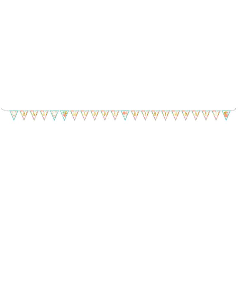 Amscan Slinger 'Happy birthday ONE' | 4,75 meter