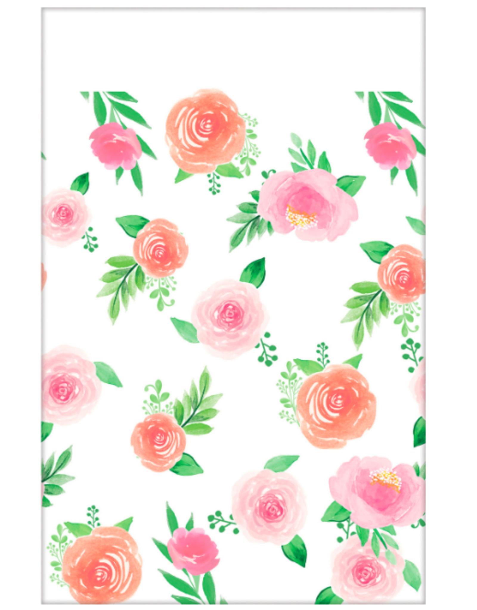 Amscan Tafelkleed bloemen | 137 x 259 cm
