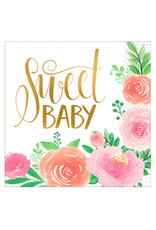 Amscan Servetten 'Sweet baby' | 16 stuks