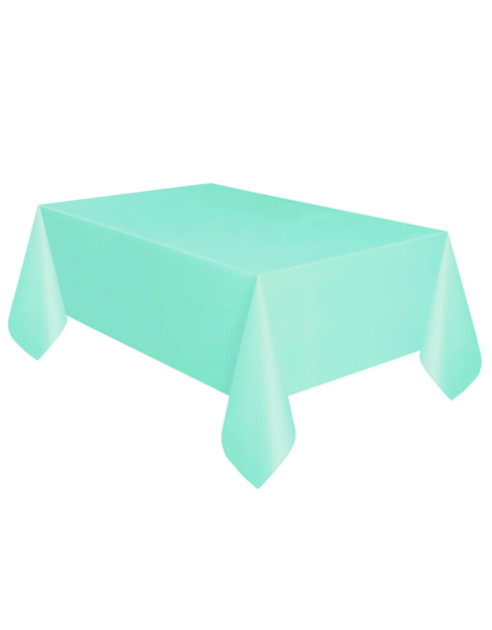 HAZA Plastic tafelkleed mintgroen | 137 x 274 cm