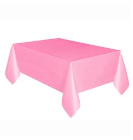 HAZA Plastic tafelkleed roze | 137 x 274 cm
