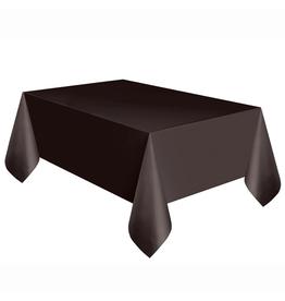 HAZA Plastic tafelkleed zwart | 137 x 274 cm