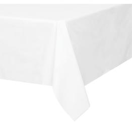 HAZA Plastic tafelkleed wit | 137 x 274 cm