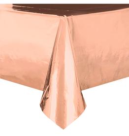 HAZA Rosé gouden tafelkleed folie | 137 x 274 cm