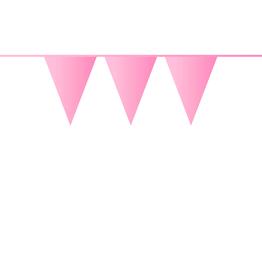 HAZA Vlaggenlijn lichtroze | 10 meter