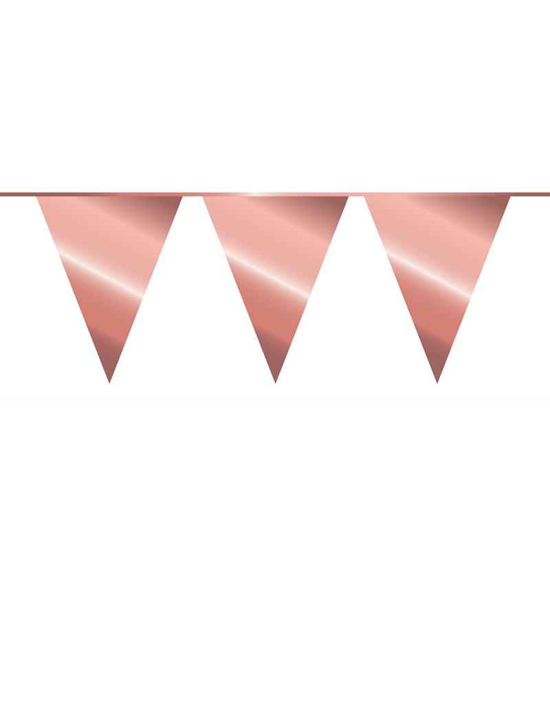 HAZA Vlaggenlijn rosé goud | 10 meter