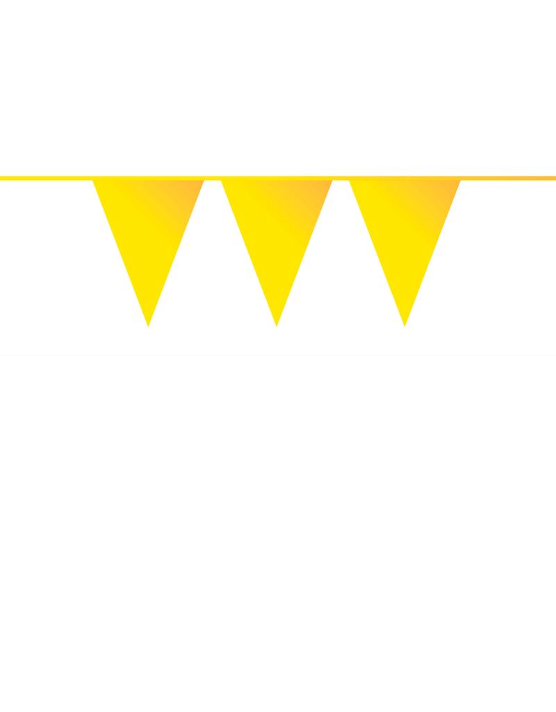 HAZA Vlaggenlijn geel   10 meter