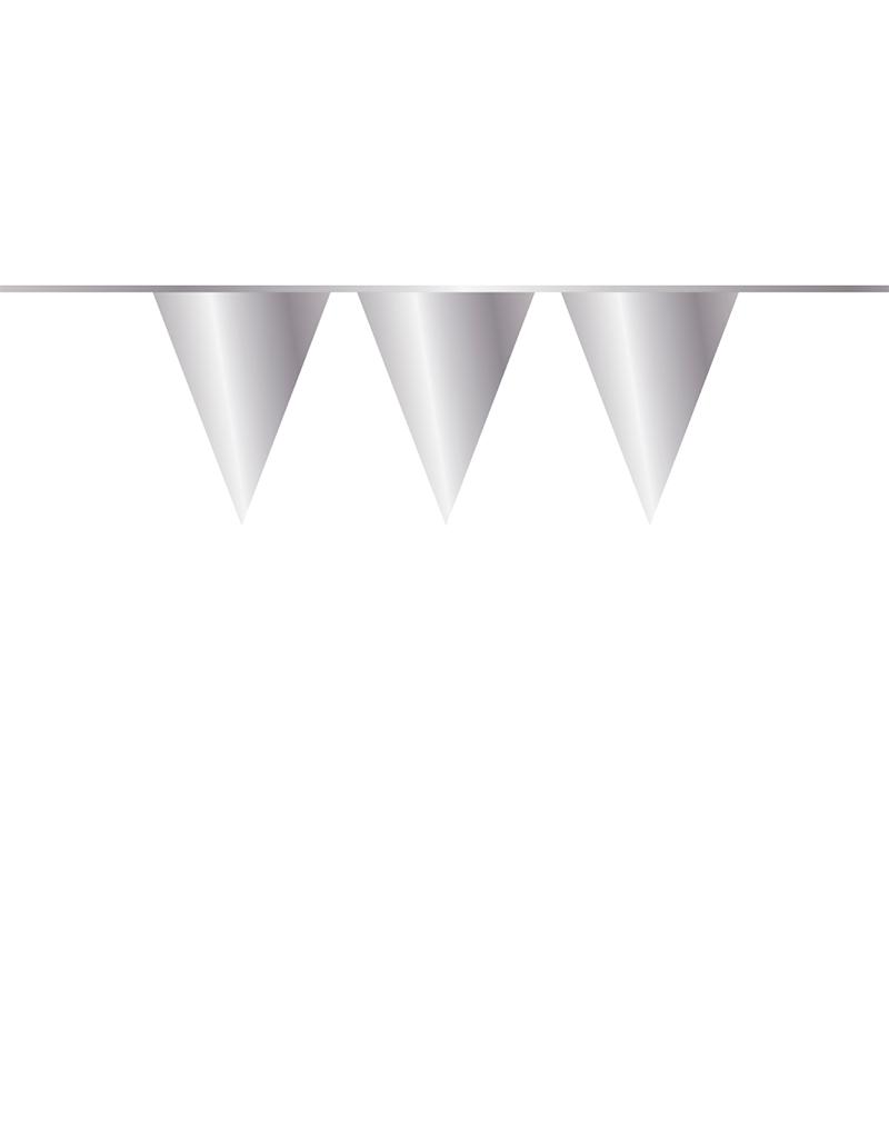 HAZA Vlaggenlijn zilver | 10 meter